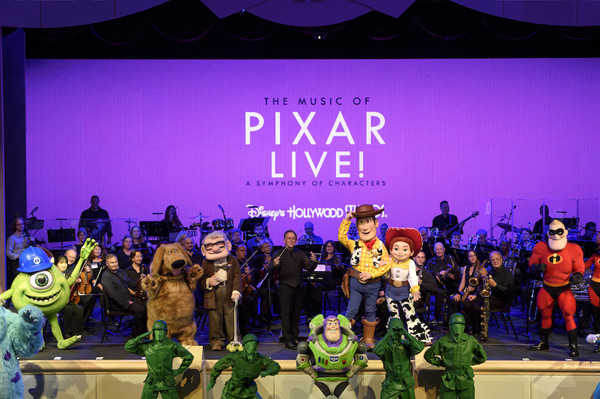 'The Music of Pixar LIVE! A Symphony of Characters' Starts May 26 at Disney's Hollywood Studios