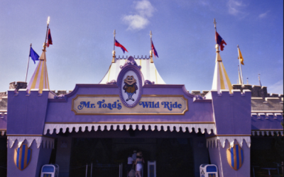Five Facts About Mr. Toad's Wild Ride