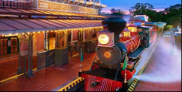 A Historical Tour of Walt Disney World's Trains