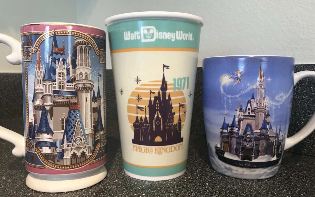 Souvenir Gal's Top Coffee Mugs from Walt Disney World
