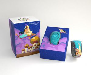 Celebrations Press Walt Disney World Aladdin Valentine's Day MagicBand Disney Parks Blog