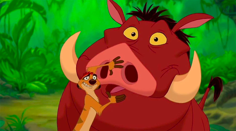 Ten Things You May Not Know About Timon and Pumbaa