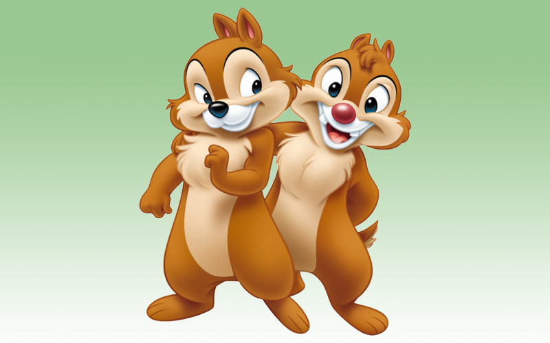 Ten Things You May Not Know About Chip 'n' Dale