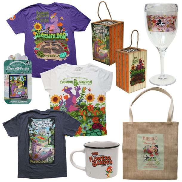2018 Flower & Garden Festival Merchandise 2